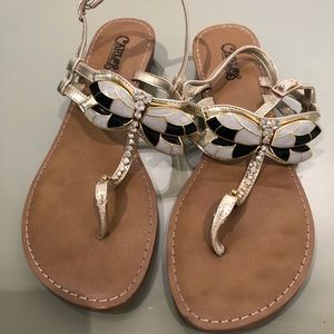 Carlos Santana Dragonfly Sandals
